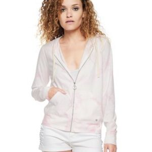 Juicy Couture Baby Pink Tie Dye Jacket